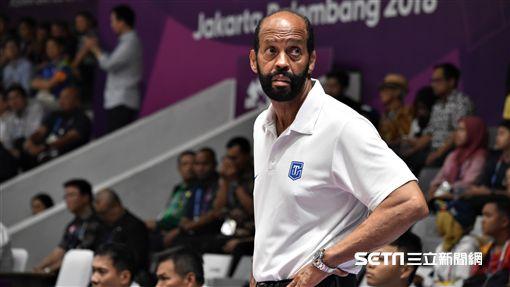 中華男籃總教練帕克。(圖/記者王怡翔攝)
