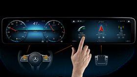 MBUX智能資訊娛樂系統。(圖/Mercedes-Benz提供)