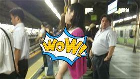 日本,巨乳,正妹,素人,正妹 圖/翻攝自《2CH》