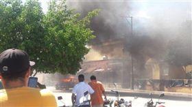 150村民「私刑正義」燒死2綁架嫌 墨檢:人家清白的(圖/翻攝自推特)