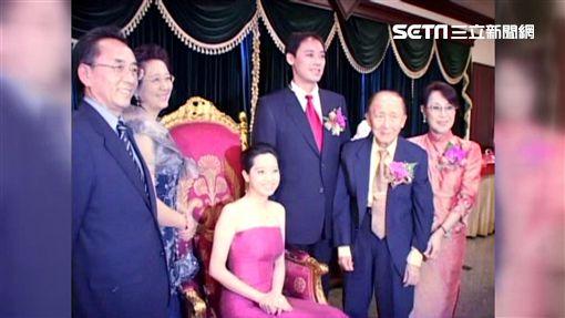楊偉中,結婚,豪門,千金,陳以真,妻子,老婆圖/資料照(2006年