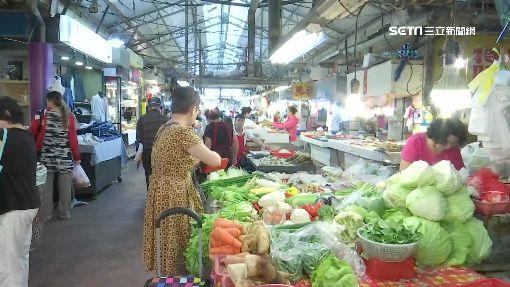 搶菜大作戰! 豪雨釀短缺價格飆一倍以上菜市場 蔬菜 高麗菜