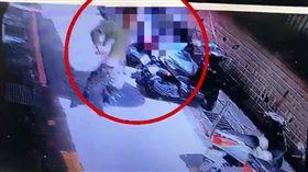 ▲搶劫彩券逃跑的盧姓嫌犯。(圖/自基隆市警察局第一分局提供)