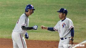 亞運棒球中華隊詹子賢。(圖/記者王怡翔攝影)
