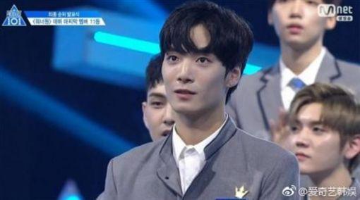 Produce 48,After School,李佳恩,NU'EST,金鐘炫(圖/翻攝自微博)