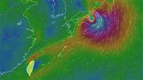 燕子颱風 圖/氣象局