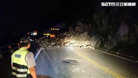 豪雨後遺症 蘇花公路和平段坍方管制中(圖/翻攝畫面)
