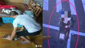 老婆管太嚴!他崩潰偷iPad坐牢:想進監獄靜一靜…(左圖/翻攝自微博、右圖/翻攝自浙江新聞)