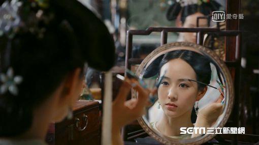 張鈞甯在《如懿傳》中飾演海貴人海蘭。(愛奇藝台灣站提供)