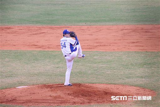 ▲韓國隊先發投手梁玹種是冠軍大功臣。(圖/記者蕭保祥攝影)