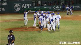 ▲韓國隊亞運棒球完成3連霸。(圖/記者蕭保祥攝影)