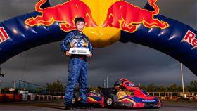 羅俊耀第2度拿下卡丁車冠軍。(圖/Red Bull提供)