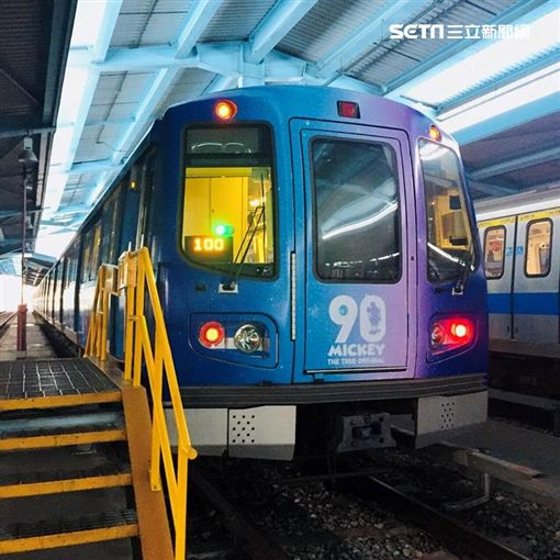 米奇,捷運,米奇趣遊台北彩繪列車,米妮,彩繪列車