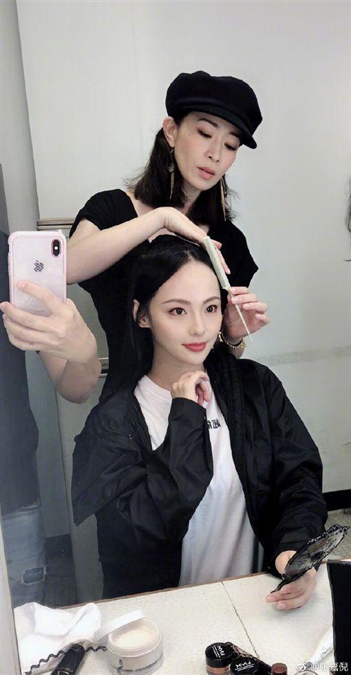 佘詩曼 張嘉倪 延禧攻略/翻攝自微博