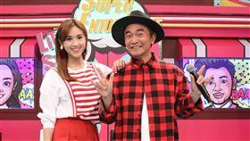 吳宗憲、吳珊儒2日錄小明星大跟班 圖/中天電視提供