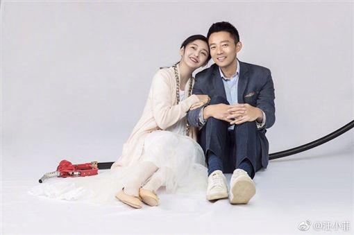 大S與老公汪小菲參加實境秀《幸福三重奏》。(翻攝微博) ID-1525497