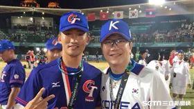 吳昇峰,韓國,中華,棒球,梁玹種,亞運 圖/吳昇峰選手授權提供