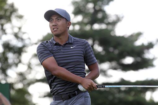 潘政琮在PGA第2場季後賽表現穩定。(圖/美聯社/達志影像)
