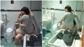 日本,無障礙廁所,情侶,做愛,炒飯(圖/翻攝自YouTube)