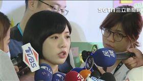 學姊黃瀞瑩加入競選辦公室 盧冠妃攝