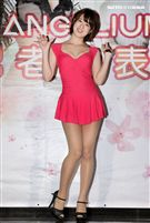 19歲青純美少女日本AV女優二宮光,是現役女大學生。(記者邱榮吉/攝影)