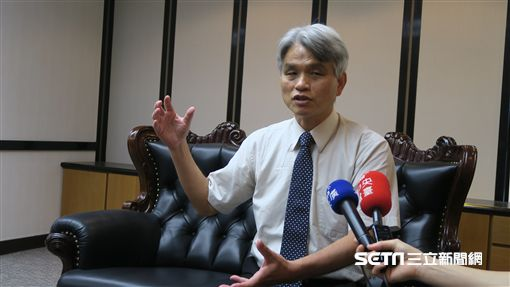 中選會主委陳英鈐。(圖/記者盧素梅攝)