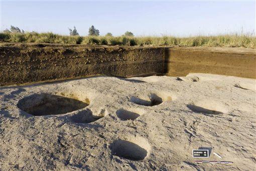 埃及發現新石器時代村莊(圖/美聯社/達志影像)