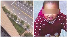 中國大陸,男童,墜樓,身亡(圖/翻攝自澎湃新聞)