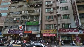 台北市大同區老翁上吊自殺身亡現場(翻攝Google Map)