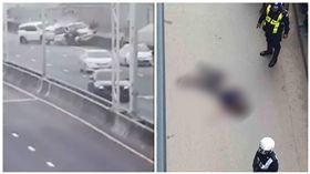 泰國,車禍,高速公路,駕駛,身亡,撞飛(圖/翻攝自臉書)