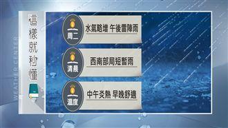 燕子颱風襲日帶水氣 明各地降雨漸增