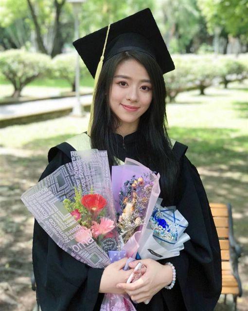 校園正妹,輔仁大學賴靖雯(翻設自臉書)