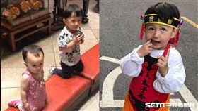 北港朝天宮前問一句 媽祖聖筊允了2歲弟!媽媽卻要大失血 圖Chen Fan授權提供