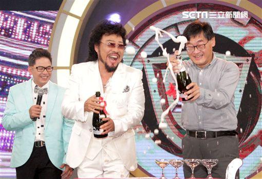 張菲「綜藝菲常讚」入圍第53屆金鐘獎,特別舉辦入圍慶功希望能得獎。(記者邱榮吉/攝影)