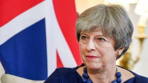 英國首相梅伊,Theresa May(圖/翻攝自推特)