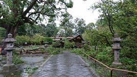 燕子颱風襲關西/平野神社、下鴨神社twitter