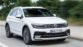 The new Volkswagen Tiguan(圖/車訊網)