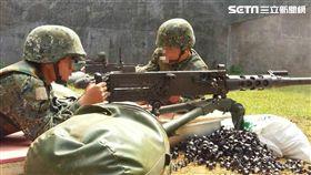50機槍,圖/翻攝自中華民國陸軍司令部臉書