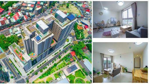 興隆公共住宅2區。(圖/取自台北市公共住宅招租網)