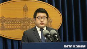 總統府發言人林鶴明。(圖/記者盧素梅攝)