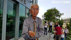 台灣第一位出櫃男同志祁家威,台北高等行政法院。翻攝畫面