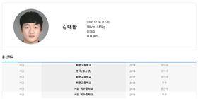 ▲金大韓出身首爾徽文高校。(圖/截自韓國棒壘協會)