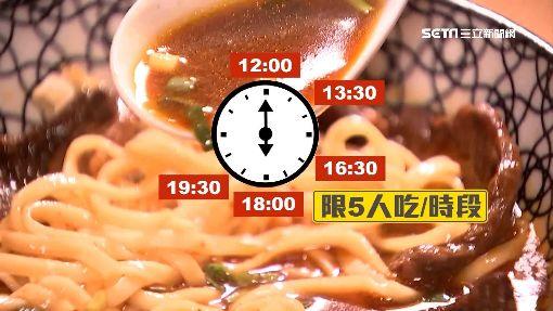 一個餐期只開放5人!牛肉麵「日限30碗」