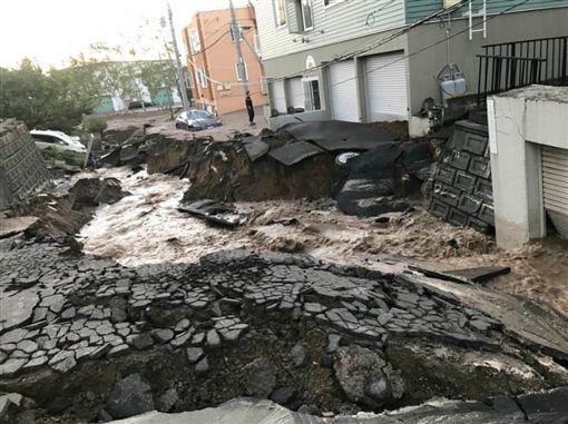 ▲北海道地震,札幌災情。(圖/翻攝自推特 @KRN_JPN113)