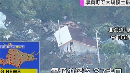 北海道強震(圖/翻攝自AP影音)