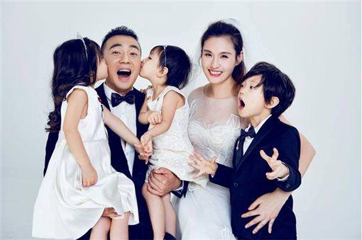 根本三胞胎!劉畊宏大兒子7歲慶生 兄妹合照就像複製貼上(圖/翻攝劉耕宏臉書)