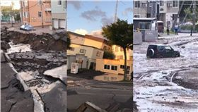 日本北海道強震地震 圖/翻攝自《富士新聞台》、推特