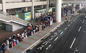 困關西機場受援助 旅客:對中國改觀
