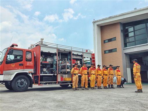 北海道發生強震,內政部指示消防署及各地方政府消防局做好隨時前往救災準備。(圖/內政部提供)