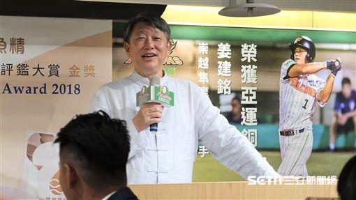 崇越科技董事長郭智輝。(圖/記者王怡翔攝影)
